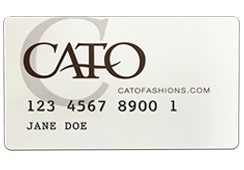 Application For Cato Fashions Apply for Cato Credit Issued